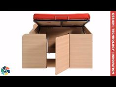 Functional furniture design is essential when looking to save space or if just prefer more elbow room. These 11 furniture innovations are a perfect example o. Diy Kids Furniture, Folding Furniture, Multifunctional Furniture, Space Saving Furniture, Ikea Furniture, Colorful Furniture, Furniture Design, Built In Kitchen Cupboards, Old Cabinets