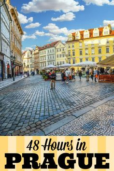 What you should see and do if you only have 48 hours in Prague. If you have more time, this will give you a good start! #prague #czechrepublic #2days