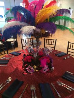 Masquerade Ball Birthday Party at the Cuvier Club for a very special 15-year old girl!