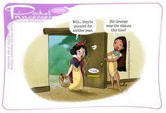 Pocket Princesses 215: Grooming Please reblog, don't repost, edit or remove captions Facebook - Instagram