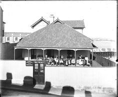 Commonwealth Free Kindergarten, Bettington St, Millers Point, shadows of chimneys and dormers cast across the street. The Rocks Sydney, P&o Cruises, Maritime Museum, Historical Pictures, Commonwealth, Old Photos, Gazebo, Australia, Outdoor Structures
