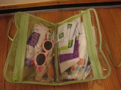 The Green Goddess: We Don't Need No Diaper Bag (Forgive My Poor Grammar, It's All Because of Alice Cooper)