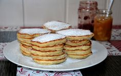 Śniadaniowe placuszki Pancakes, Breakfast, Food, Morning Coffee, Crepes, Griddle Cakes, Meals, Pancake, Morning Breakfast