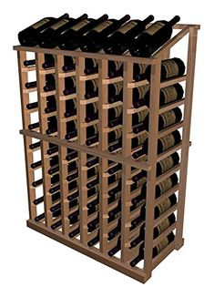 Half Height Display Wine Rack AllHeart Redwood  Classic Mahogany Stain ** Details can be found by clicking on the image. (This is an affiliate link) #HashTag3