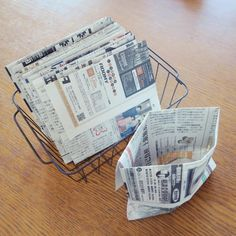 Newspaper Bags, Life Hacks, Diy And Crafts, Cleaning, Personalized Items, Handmade, Craft, Lifehacks, Arm Work