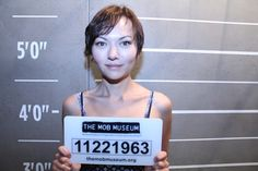 I went to @TheMobMuseum in Vegas and got in some trouble… #themobmuseum #Vegas