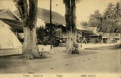Hotel Insulinde te Tegal 1920.