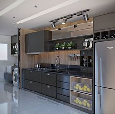 Kitchen Decor Ideas Decoration is agreed important for your home. Whether you choose the Kitchen Wall Decor Ideas or Kitchen Soffit Decorating Ideas, you will create the best Decorating Ideas For Kitchen Walls for your own life. Kitchen Room Design, Kitchen Cabinet Design, Modern Kitchen Design, Home Decor Kitchen, Interior Design Kitchen, Kitchen Furniture, Home Kitchens, Kitchen Ideas, Kitchen Cupboard