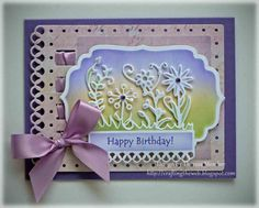Flower Burst, Labels Four  and Fancy Ribbon Threader by Spellbinders