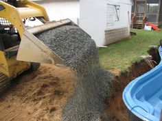 How are fiberglass pools installed? Learn about everything from excavation, setting the pool, plumbing and backfilling. Inground Pool Diy, Diy Pool, Fiberglass Pool Installation, Fiberglass Pool Manufacturers, Building A Swimming Pool, Pool Kits, Fiberglass Swimming Pools, Pool Shapes, Small Pools