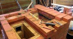 Процедура кладки камина Garden Bridge, Stove, Outdoor Structures, Building, Wood, Outdoor Decor, House, Home Decor, Craft
