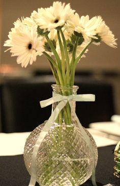 casamento mint, mint wedding, flowers, flores, center piece, centros de mesa, decor, wedding decor, decoraçao de casamento, gerberas.