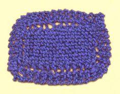 diagonal afghan knitting pattern