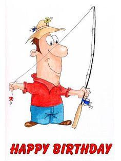 Happy birthday on pinterest 183 pins for Fishing birthday wishes