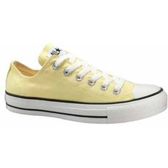 Lemonade/Light yellow Converse Chucks. Gift from my man. I should be sick in bed more often :)
