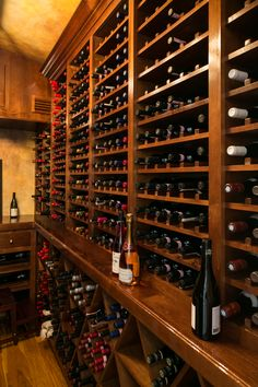 Riverdell Construction- wine room