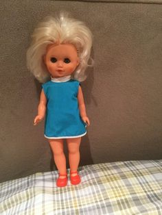 Vintage 14 Inch Doll | 4.99+5.5 listed A35/777 on the back of her neck