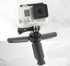 Mini Tripod Stand Holder table tripe Light + Phone holder Live Show Self sticks Monopod stick 65mm for Gopro cellphone