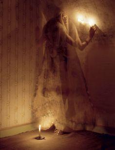 The Origin Of Monsters: Kristen Mcmenamy By Tim Walker For Love S/S 2012