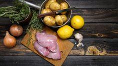 Zajac na víne s maslovými haluškami | VARENÝ-pečený