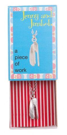 A Piece of Work - Stapler Necklace