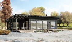 for a bach Cabin Design, Cottage Design, Tiny House Design, Shed Homes, Log Homes, Casas Containers, Small Buildings, Architecture, Future House