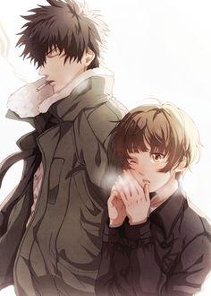 Kougami & Tsunemori