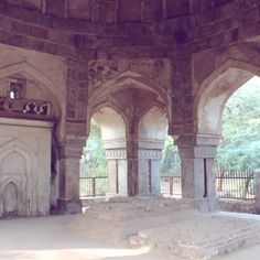 silent victim... Lodhi era Tomb situated at Mehrauli Archaeological park. Slowly suffers away in the neglectful system.
