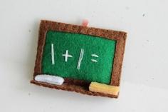 Patterns: Felt Apple, Chalkboard, and Grade. $4.00, via Etsy.