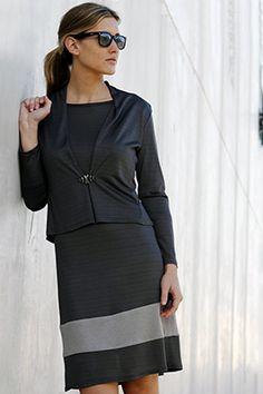 Elisa Cortés-Colección Elisa Cortés Dresses For Work, Fashion, Winter, Moda, Fashion Styles, Fashion Illustrations, Fashion Models