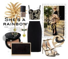 """""""Trend:box clutch"""" by laurenleigh-bee on Polyvore featuring Bobbi Brown Cosmetics, Raoul, Betsey Johnson, Effy Jewelry, Lipsy, Tamara Mellon, NARS Cosmetics and Zibi London"""