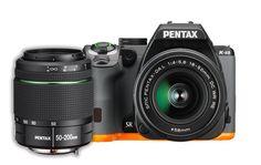 Pentax K-S2 20MP Wi-Fi Enabled Weatherized SLR with 50-200mm Lens Kit (Black/Orange)