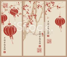Japanese style background royalty-free stock vector art