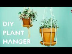 Nada pode dar mais vida a um ambiente do que as plantas. Neste vídeo você poderá descobrir como pendurar suas plantas usando apenas uma corda e um anel de ferro. Muito simples e bonito!