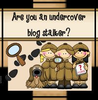 Undercover Blogstalkers...too funny! Teaching Blog Addict