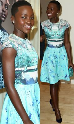Lupita Nyong'o (she's too physically perfect to be real! what a stunner!)