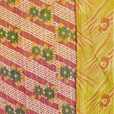 Vintage Kantha Quilt, $75, now featured on Fab.