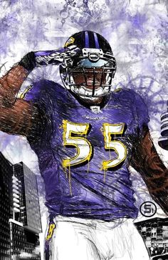 """2012 Defensive Player of the Year """"T-Sizzle"""" Baltimore Ravens Wallpapers, Sports Art, Sports Pics, Baltimore Ravens Players, Quoth The Raven, Ray Lewis, Football Art, Sports Figures, World Of Sports"""