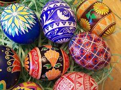 ukraine eggs - love these!