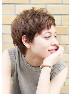 【自由が丘 ibrel 齋藤】無造作エアリーショート - 24時間いつでもWEB予約OK!ヘアスタイル10万点以上掲載!お気に入りの髪型、人気のヘアスタイルを探すならKirei Style[キレイスタイル]で。