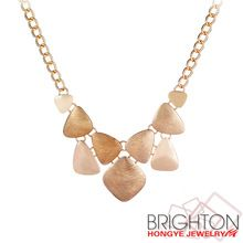 Мода Позолоченным Царапинам Металл Ожерелье N1-48981-4080