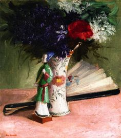 Eva Gonzales - Bouquet of Violets, 1865, oil on canvas