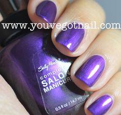 Sally Hansen Purple Pulse