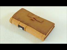 Funda para móvil en forma de libro hecha con goma eva. Manualidades con goma eva - YouTube