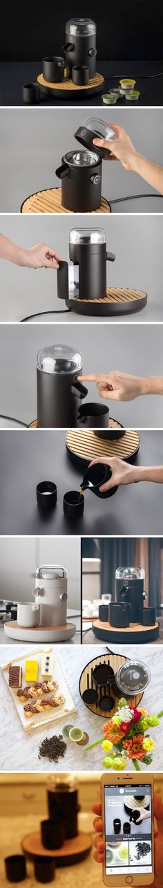 TEAMOSA marries modern science and traditional tea-making so you get the perfect tea-making experience each time. It uses a specialized ultrasonic extraction method to enhance aroma and taste. You can begin brewing in seconds with quick and easy TEAMOSA pods. Simply place them in the device and it will scan the pod and brew it according to expert recommendations!