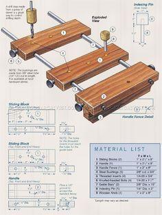 DIY Shelf Pin Jig - Drill Woodworking Techniques