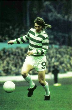 Kenny Dalglish of Celtic in 1975.