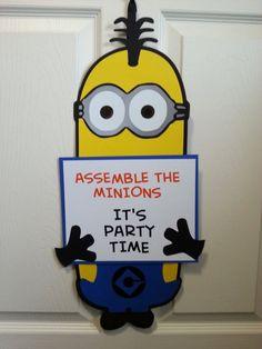 Idea para decorar tu celebración de cumpleaños Minions
