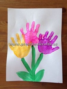 Egg Carton Flowers Spring Crafts And Learning For Kids Crafts