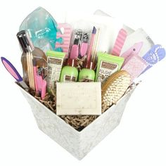 Manicure and Pedicure Gift Basket